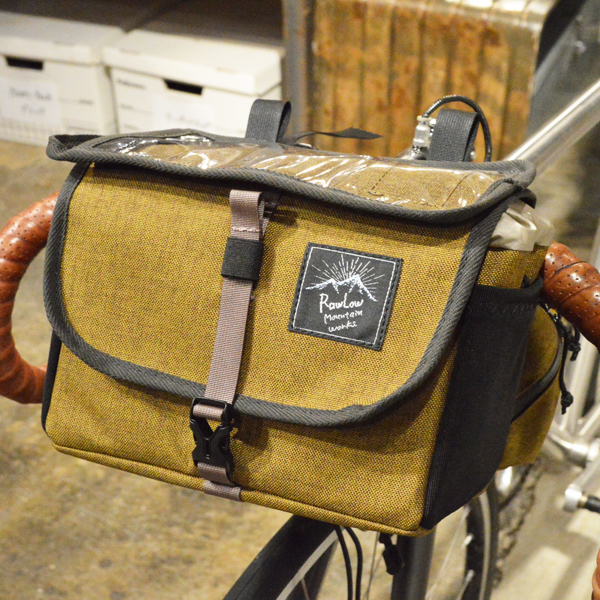 RawLow Mountain Works (ロウロウ マウンテンワークス) / フロンティア バイクバッグ 【Frontire Bike Bag】<Bluegray>