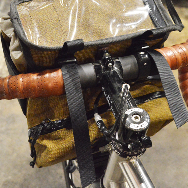 RawLow Mountain Works (ロウロウ マウンテンワークス) /  フロンティア  バイクバッグ 【Frontire Bike  Bag】<Moss>