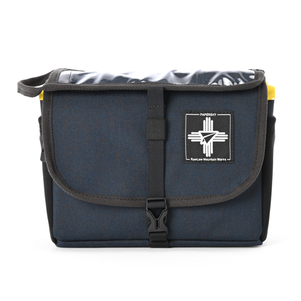 RawLow Mountain Works (ロウロウ マウンテンワークス) / フロンティア  バイクバッグ 【Frontire Bike  Bag】<Navy Blue>