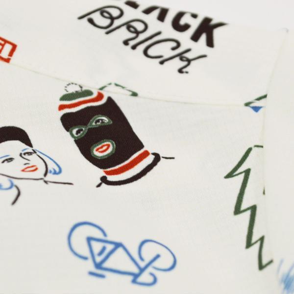 BLACK BRICK (ブラックブリック) / ドライ アクティブアロハ 【Dry Active Aloha 】<Logo Print>