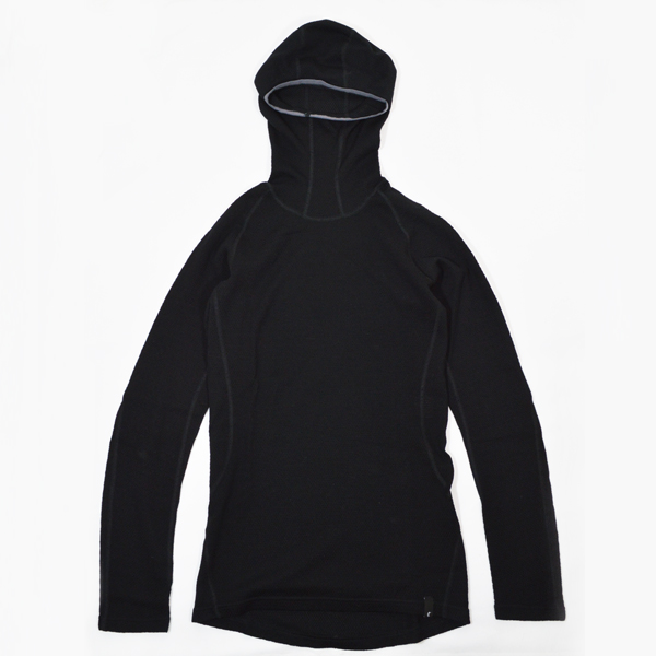 Teton Bros.(ティートンブロス) / MOB ウールフーディー【MOB Wool Hoody】<Black>