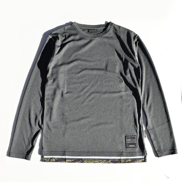 Mountain Martial Arts (マウンテンマーシャルアーツ) / MMA ポーラテック® パワーウール ロングスリーブ Tee 【MMA POLARTEC®Power Wool L/S Tee 】<2 color>