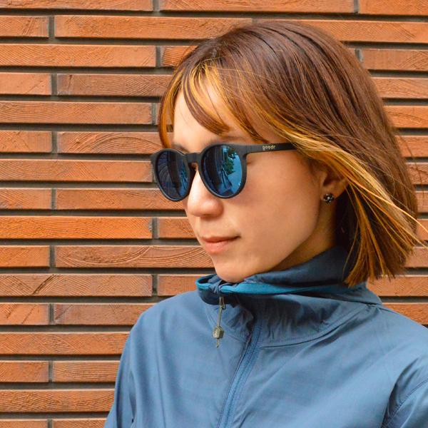 goodr(グダー) / ランニングサングラス 「Carl's Inner Circle」 CG【Running Sunglasses 「Carl's Inner Circle」 CG】<Black x Blue>