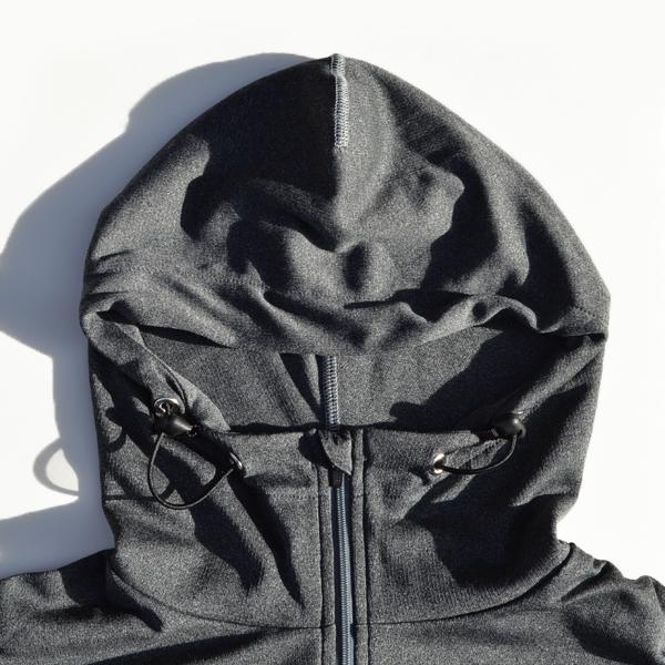 Mountain Martial Arts (マウンテンマーシャルアーツ) / MMA ポーラテック® パワーウール ジップフーディー 【MMA POLARTEC®Power Wool Zip Hoodie 】<2 color>