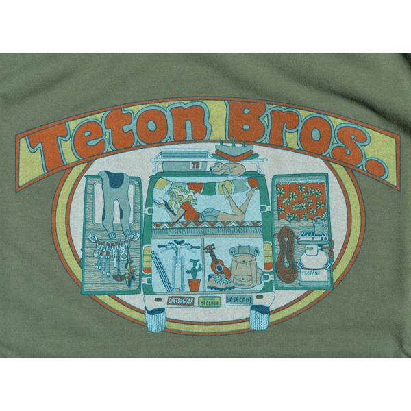 Teton Bros.(ティートンブロス) / ダートバッグ ガール Tee 【Dirtbag Girl Tee】<4 color>