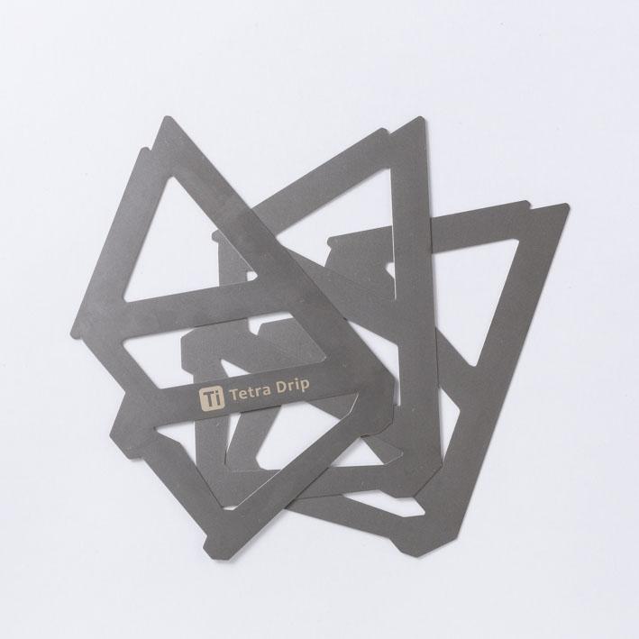 MUNIEQ(ミュニーク) / テトラ ドリップ 【 Tetra Drip 01T 】<Titanium>