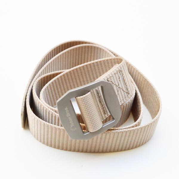 Teton Bros.(ティートンブロス) / チタニウムベルト 【 Titanium Belt 】<Beige>