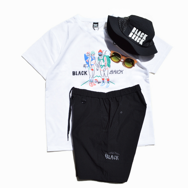 BLACK BRICK (ブラックブリック) / BLACK BRICK マウンテンショーツ 【BLACK BRICK Mountain Shorts 】<Sumikuro>