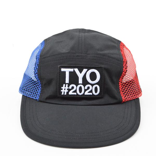 Mountain Martial Arts (マウンテンマーシャルアーツ) / TMRC × velo spica TYO#2020 ピッグスナウト キャンプキャップ ミッドビル 【 TMRC x velo spica TYO #2020 P.S.C Cap Midbill 】<Black>