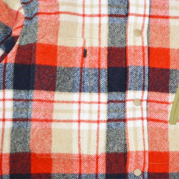 Teton Bros.(ティートンブロス) / ファラロンシャツ 【Farallon Shirt】<Red>
