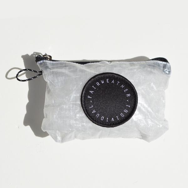 FAIRWEATHER (フェアウェザー) / パッカブル サコッシュ 【Packable Sacoche】 <Dyneema Gray>