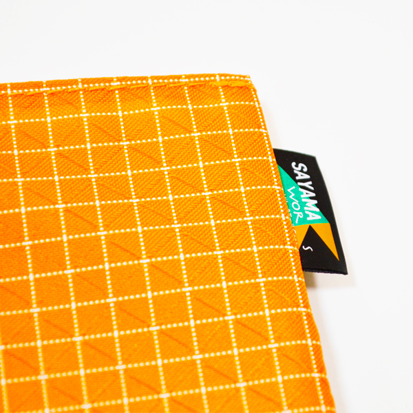 SAYAMA works(サヤマワークス) / ミニマリスト ウォレット スペクトラファイバー 【 MINIMALIST WALLET Spectra Fiber 】 / <Orange>