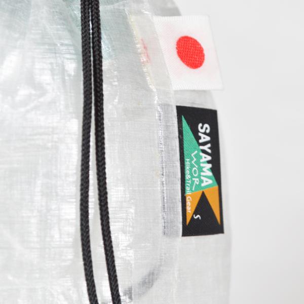 SAYAMA works(サヤマワークス) / キューベン 巾着 L 【Cuben Kinchaku L】 <White>