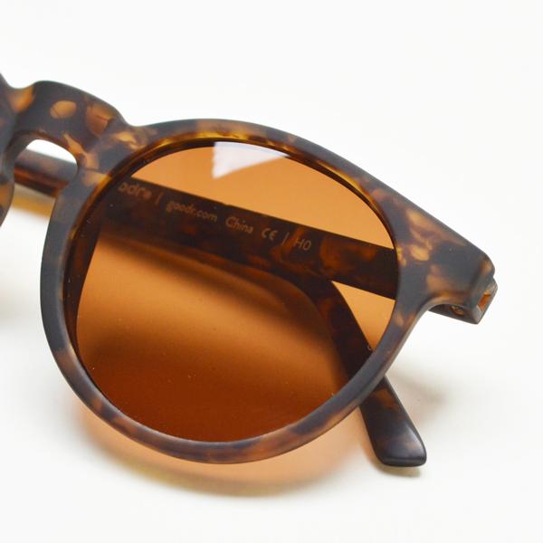 goodr(グダー) / ランニングサングラス 「Carl's Inner Circle」 CG【Running Sunglasses 「Carl's Inner Circle」 CG】<Tortoise shell x Brown>