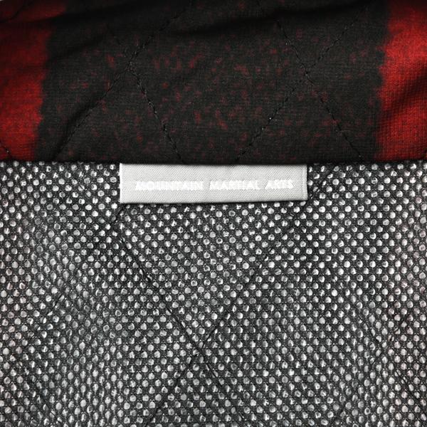Mountain Martial Arts (マウンテンマーシャルアーツ) / MMA キルティング ランベスト 【 MMA Quilting Run Vest 】<Red Check>