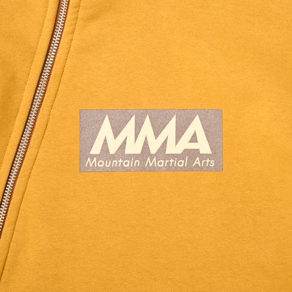 Mountain Martial Arts (マウンテンマーシャルアーツ) / MMA 4WAY ストレッチ スウェットジップフーディー 【 MMA 4WAY Stretch Sweat Zip Hoodie 】<Mustard>
