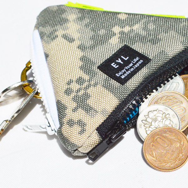 EYL(イーワイエル) / トライアングルコインパース プリント 【Triangle Coin Purse Print】<7 color>
