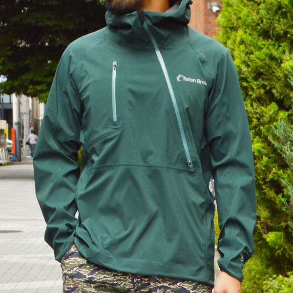 Teton Bros.(ティートンブロス) / ブレスジャケット KB 【 Breath Jacket KB】<Deep Green>