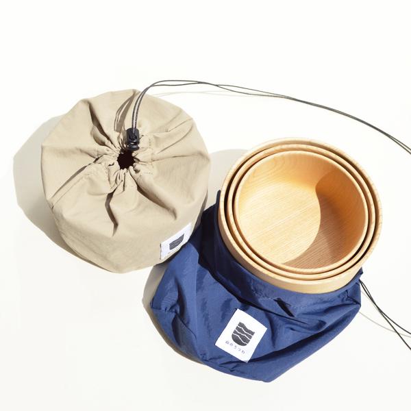 VIVAHDE (ヴィヴァフデ) / 山のうつわ スタッフバッグ 【Yamano Utsuwa Stuff Bag】<2 color>