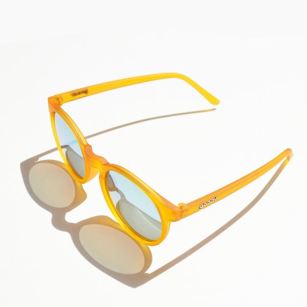 goodr(グダー) / ランニングサングラス 「Carl's Inner Circle」 CG【Running Sunglasses 「Carl's Inner Circle」 CG】<Yellow x Silver>