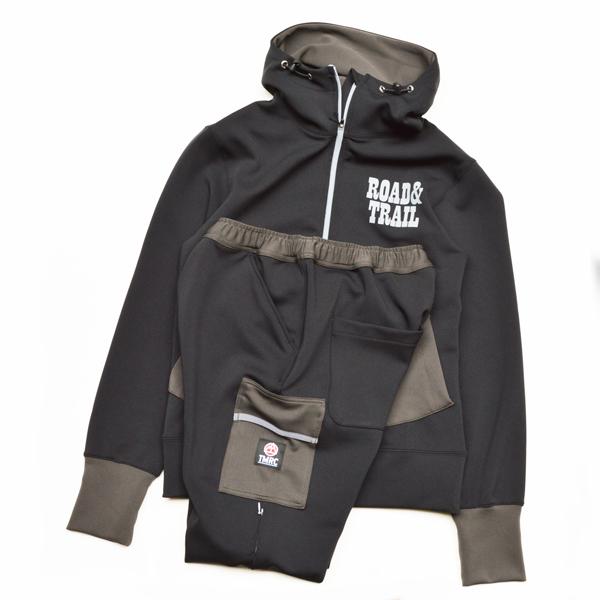 Mountain Martial Arts (マウンテンマーシャルアーツ) / TMRC ベンチレーション ストレッチ フードジャージー 【TMRC Ventilation Stretch Hood Jersey】<Black Gray>