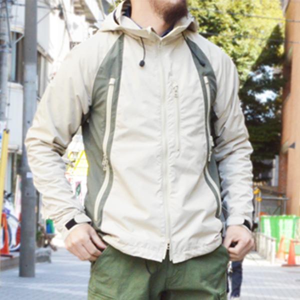 ウインドスルーマウンテンパーカー 【Wind Through Mountain Parka】<Beige> / narifuri(ナリフリ)