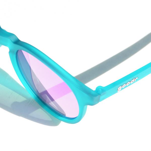goodr(グダー) / ランニングサングラス 「Carl's Inner Circle」 CG【Running Sunglasses 「Carl's Inner Circle」 CG】<Green x Purple >