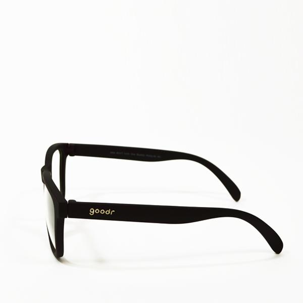 goodr(グダー) / ランニングサングラス OGs 【Running Sunglasses OGs】<Black x Clear>