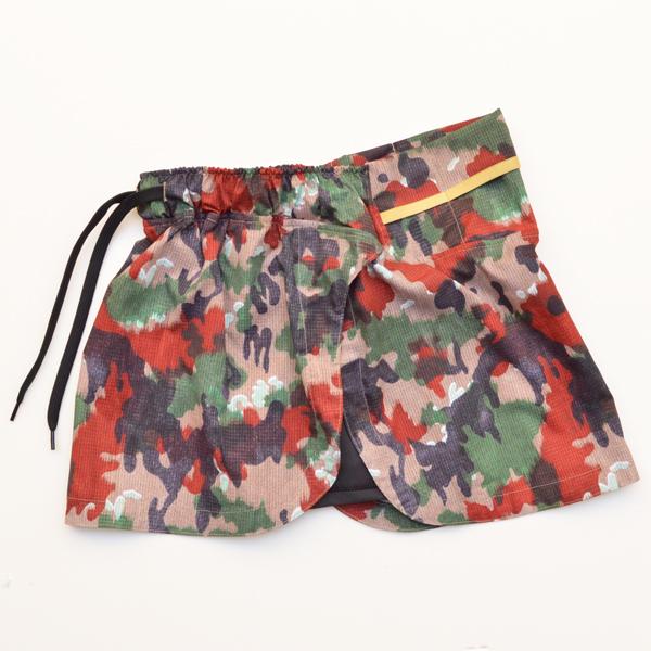 Mountain Martial Arts (マウンテンマーシャルアーツ) / MMA エアライト サイドスリット ランスカート 【 MMA Air Light Side Slit Run Skirt 】<2 color>