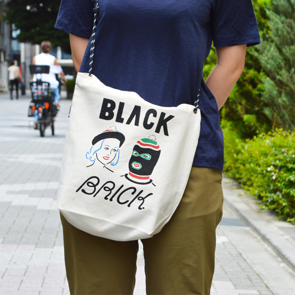 BLACK BRICK (ブラックブリック) / サコッシュトートバッグ 【 Sacoche Tote Bag 】<Maskman & Ladies>