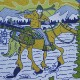 Teton Bros.(ティートンブロス) / スキー カウボーイ Tee 【Ski Cowboy Tee】<Navy>