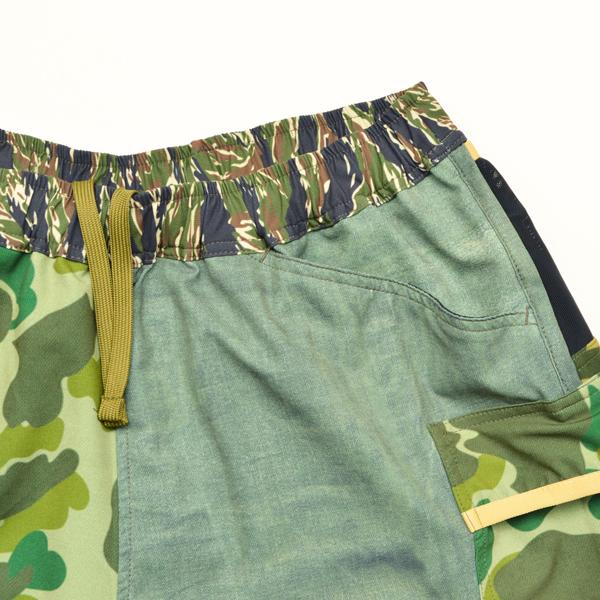 Mountain Martial Arts (マウンテンマーシャルアーツ) / MMA 7ポケット ランパンツ Shorty 【MMA 7pkt Run Pants Shorty】<2 color>