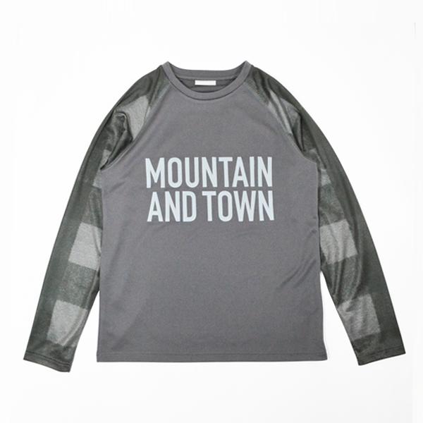 Mountain Martial Arts (マウンテンマーシャルアーツ) / MMA バッファローチェック ロングスリーブ Tee 【 MMA Buffalo Check L/S Tee 】<Black Check>