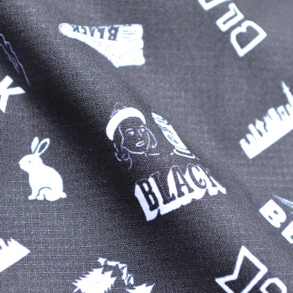 BLACK BRICK (ブラックブリック) / ドライ アクティブアロハ 【Dry Active Aloha 】<Black>