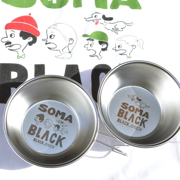 BLACK BRICK (ブラックブリック) / ソマブラック ファミリーシェラカップ 【SomaBlack Family Sierra Cup】<6 design>