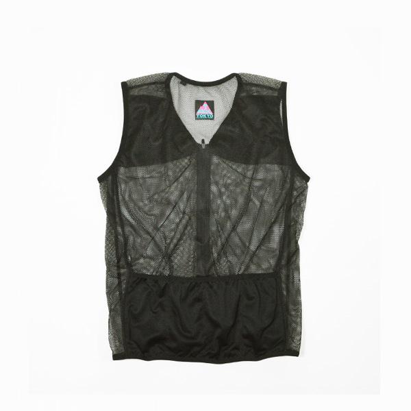 Mountain Martial Arts (マウンテンマーシャルアーツ) / TMRC ランニングベスト with Tee ロング 【 TMRC Running Vest with Tee Long 】<Black>