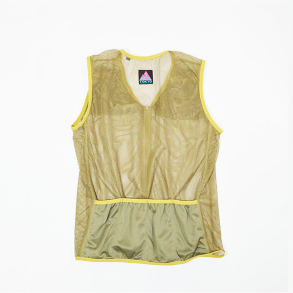 Mountain Martial Arts (マウンテンマーシャルアーツ) / TMRC ランニングベスト with Tee ロング 【 TMRC Running Vest with Tee Long 】<Olive>
