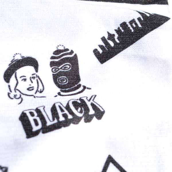 BLACK BRICK (ブラックブリック) / BLACK BRICK オリジナル カスタムバフ 【BLACK BRICK Original Custom Buff】<Original Print>