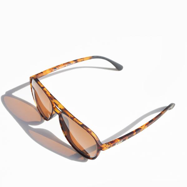 goodr(グダー) / ランニングサングラス マッハG 【Running Sunglasses Mach G】<Tortoise shell>