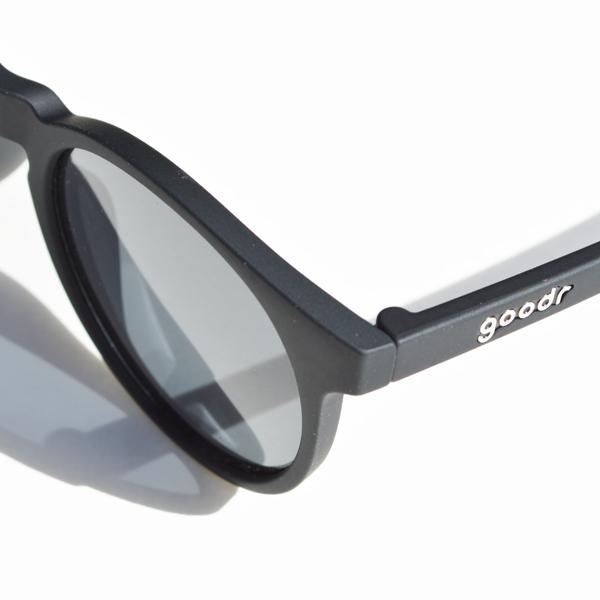 goodr(グダー) / ランニングサングラス 「Carl's Inner Circle」 CG 【Running Sunglasses 「Carl's Inner Circle」 CG】<Black x Black>