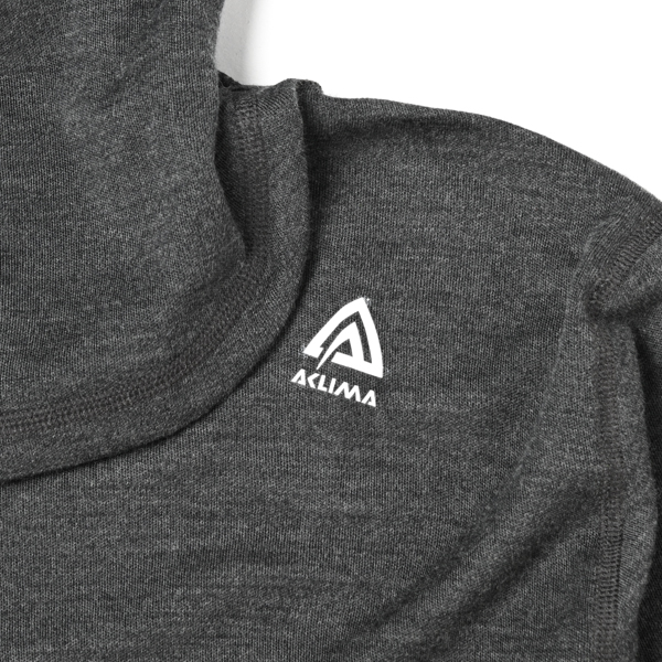 ACLIMA(アクリマ)  / ウォームウール フードセーター 【WARM WOOL HOOD SWEATER】<Marengo>
