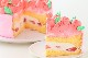3Dお花畑ケーキ 4号