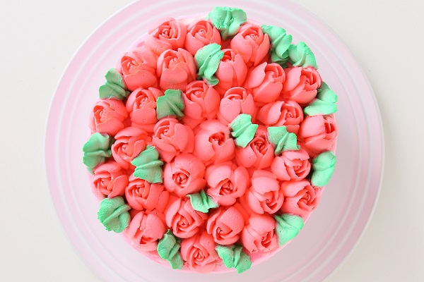 3Dお花畑ケーキ 3号