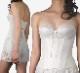 ウエストニッパー(BRIDALBEAUTÉ)花嫁様の美クビレを演出し、バストの横流れを防ぐブライダルインナー