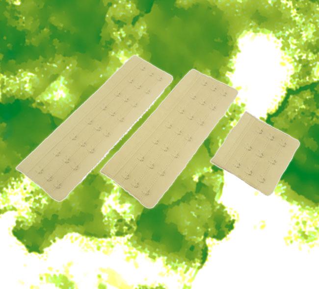エクステンションフック ブライダル用ブラジャーやウエストニッパー・ビスチェのサイズ拡張用フック(BRIDALBEAUTÉ)