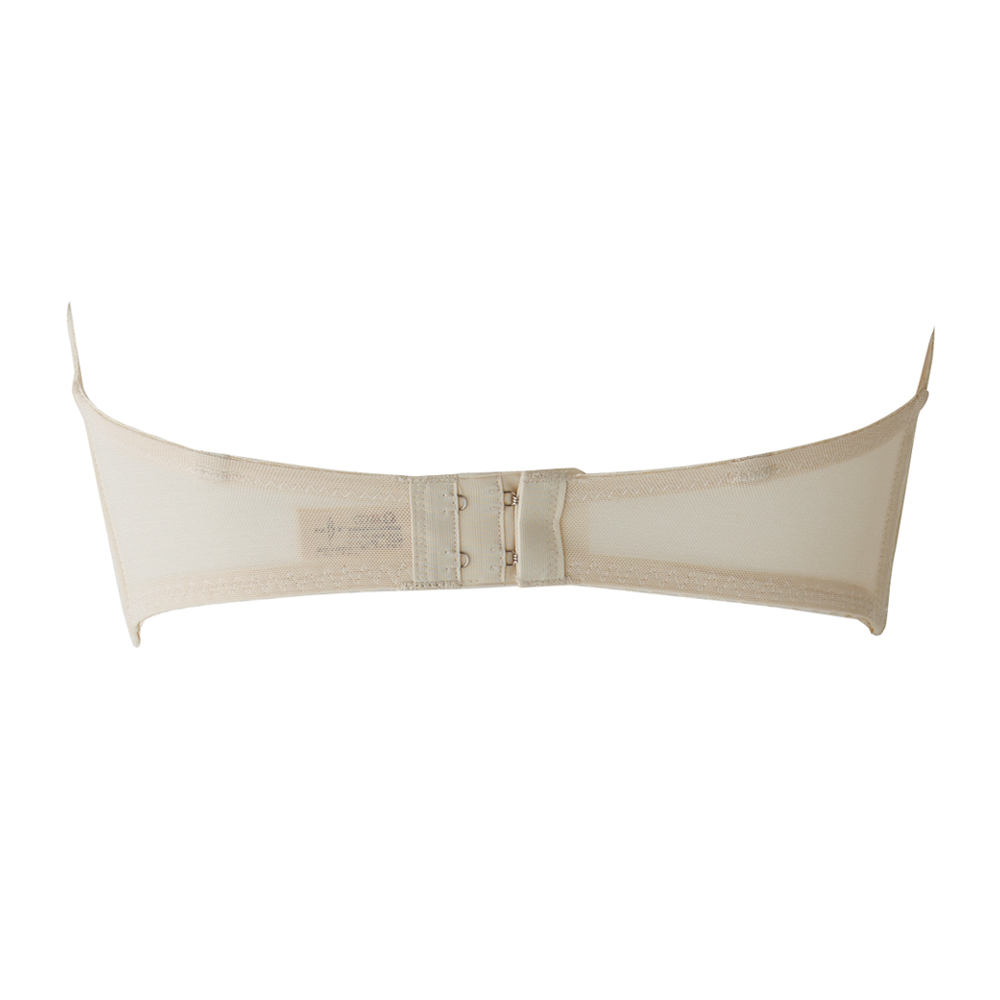 3Dレースブラジャー カップ上辺の浮きを防止し脇肉の悩みを解消するブライダルブラジャー(SQREBEAUTÉ)