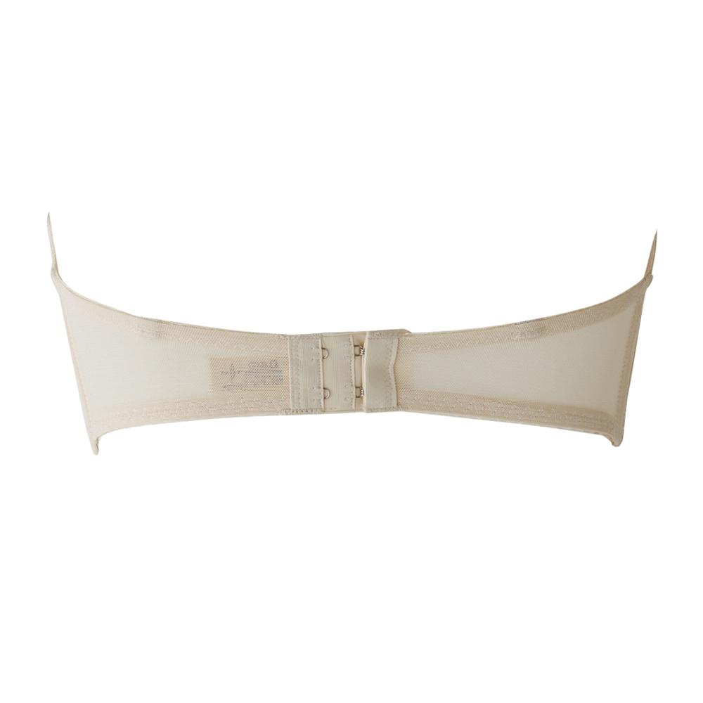 Fカップ・3Dレースブラジャー カップ上辺の浮きを解消・脇肉を軽減<Fカップ専用仕様・カップ内パネル付き>(SQREBEAUTÉ)