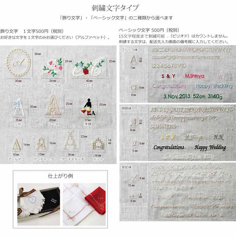 【送料無料】ホワイトリネンハンカチ 108/148番手