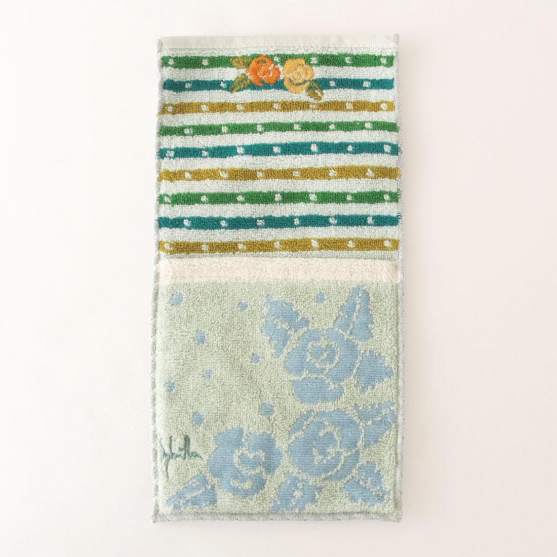 シビラ ポケットタオルハンカチ 1202 グリーン