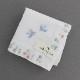 ポワンポワン ベトナム手刺繍ハンカチ 6501-10 ホワイト